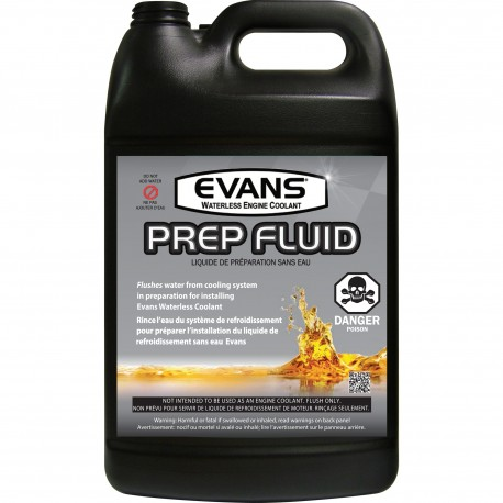 Evans Prep Fluid - Case 4x 3.78L/1USG