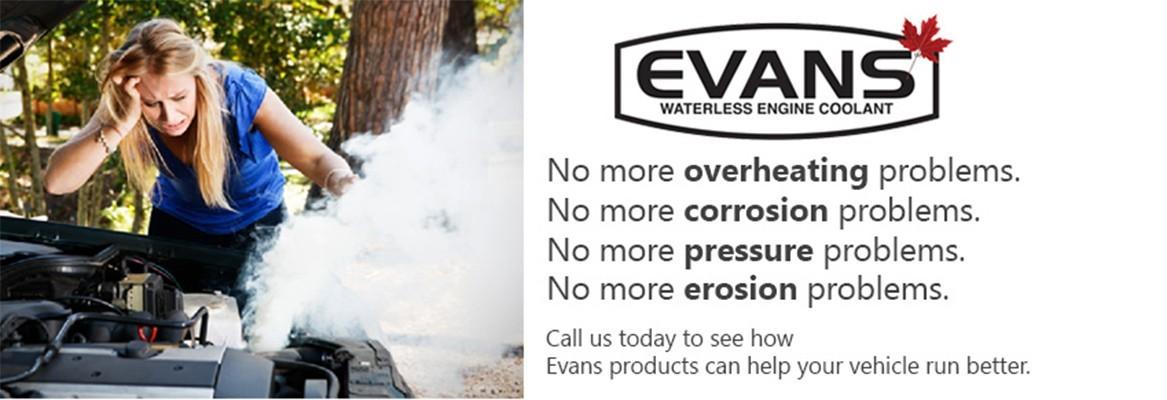 Evans Coolant Canada. No More Engine overheating